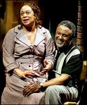 "Charles Weldon and S. Epatha Merkerson in ""Birdie Blue"""