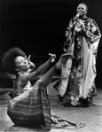 frican singer/activist Miriam Makeba performs, while dancer/costume designer at NEC Judy Dearing interprets, on an episode of Soul! from 1972