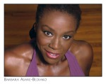 "Barbara Asare Bediako Actor/Writer of One Woman Show ""Removing the Mask"" and ""Secret Mist of Blue"""