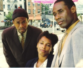 Alvin Alexis Marie McKinney Tony Jackson in Laurence Holder's Monk 'n' Bud  directed by Jasper McGruder and Tom Ross