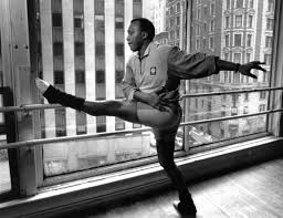 frank hatchett at the Minskoff Alvin Ailey's